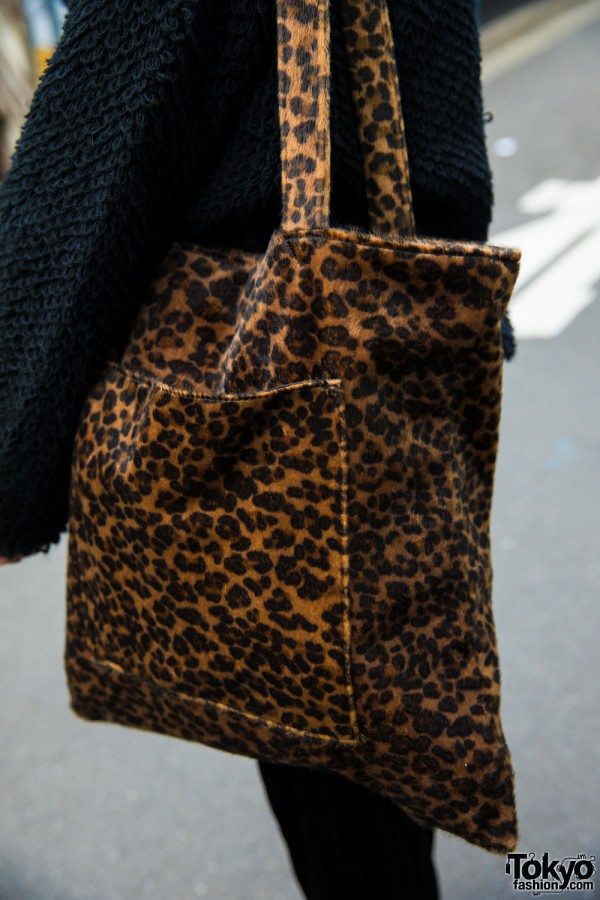 Leaopard Print Bag