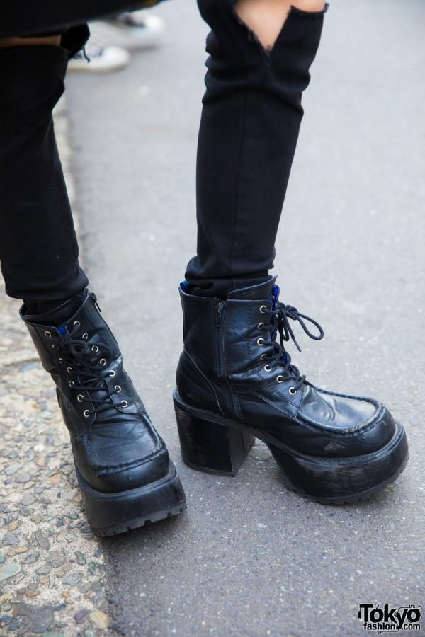 Yosuke Platform Boots
