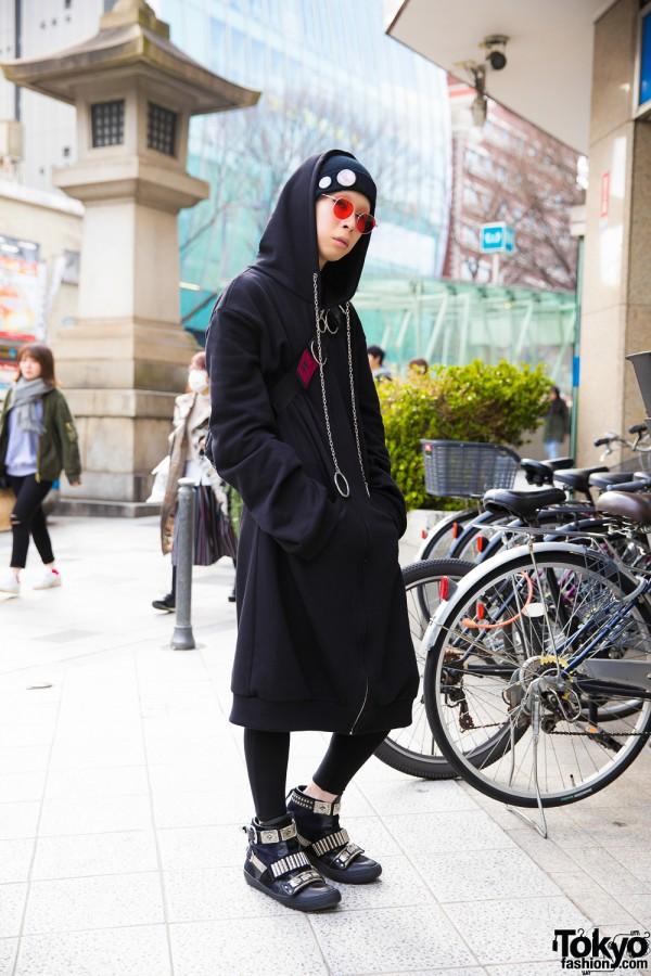 BERCERK Fashion Director Cham in Harajuku