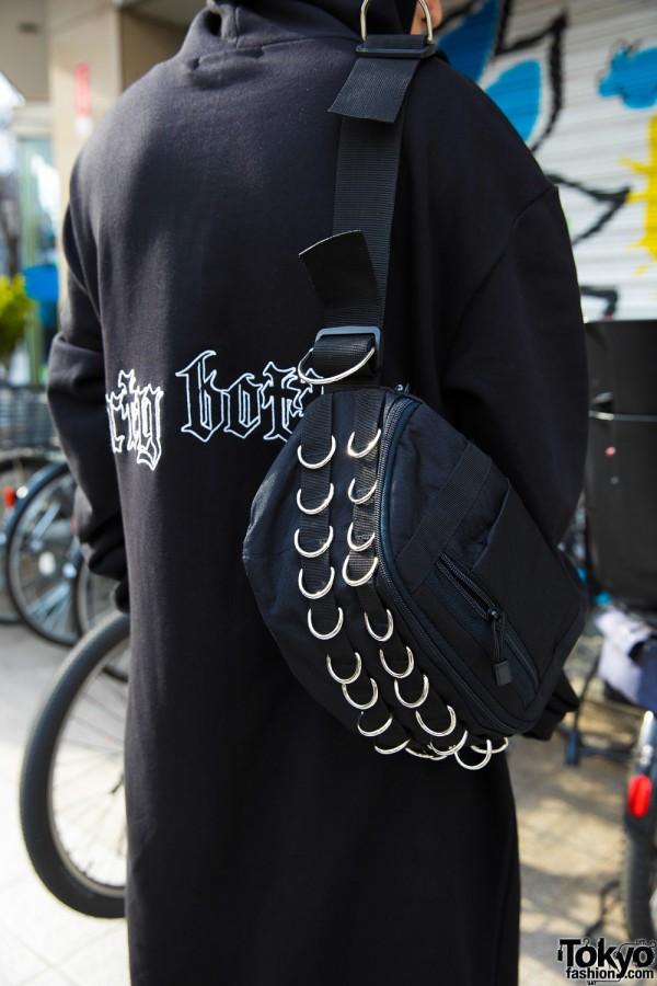 Elephant Tribal Fabrics O-Ring Bag