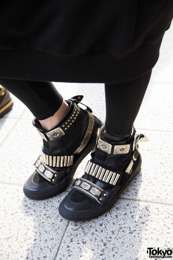 Toga Studded Shoes in Tokyo