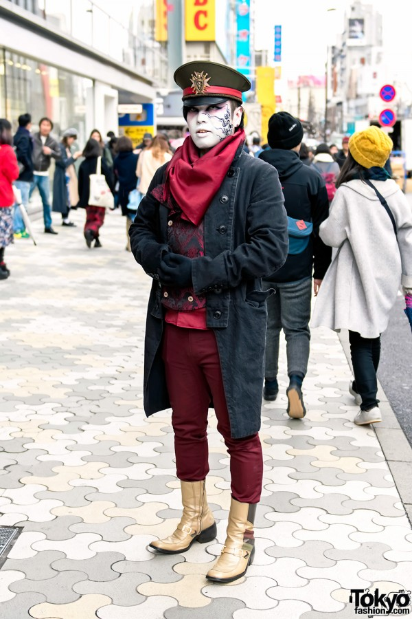 Harajuku Shironuri Steampunk Street Style w/ Vimoque Fashion