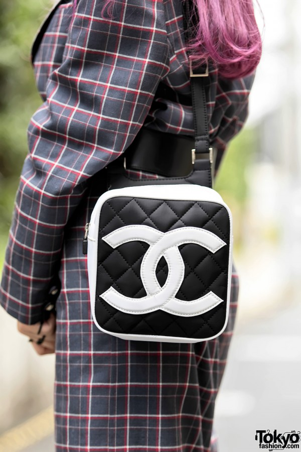 Vintage Quilted Chanel Bag in Harajuku