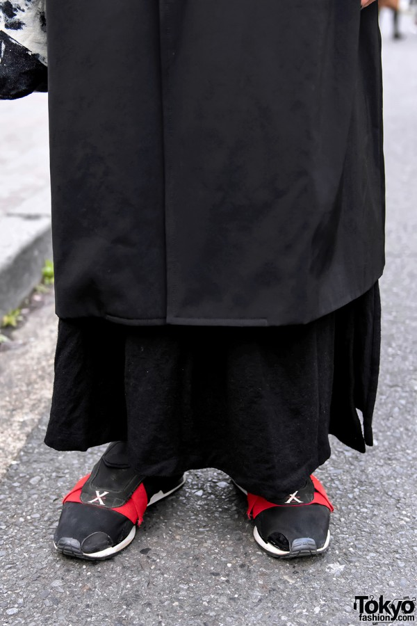 Yohji Yamamoto x Adidas Sneakers