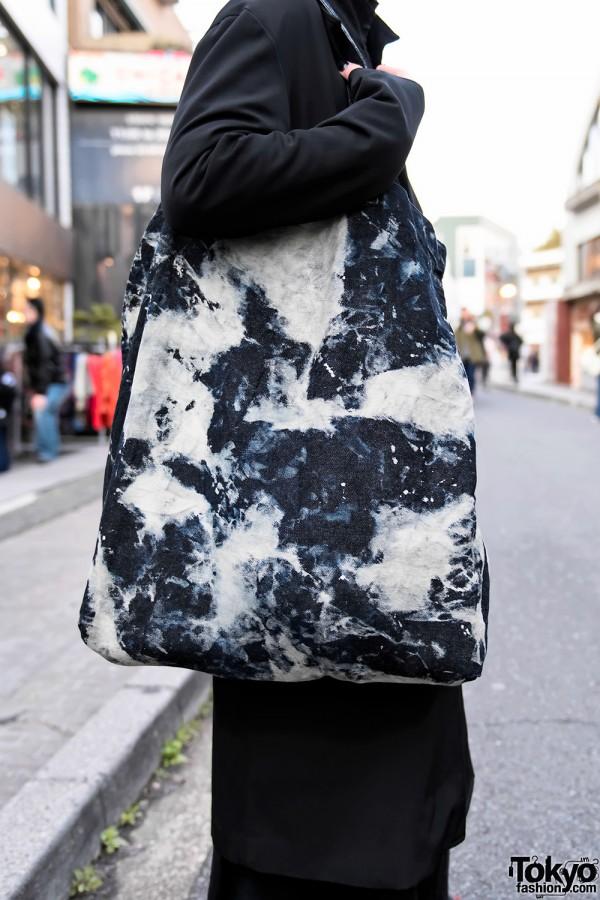Vintage Tote Bag on Cat Street in Harajuku