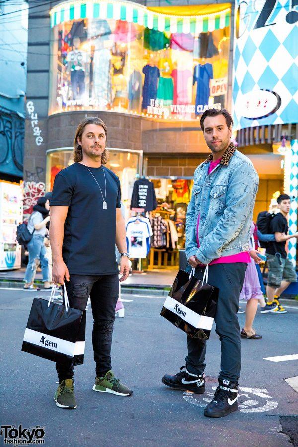 Axwell & Ingrosso on the Street in Harajuku, Japan