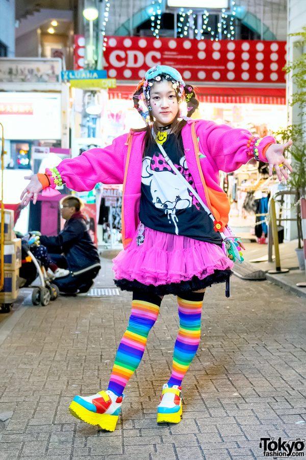 Harajuku Decora in Colorful Fashion w/ Monomania, 90884, Listen Flavor & Ensemble Stars!