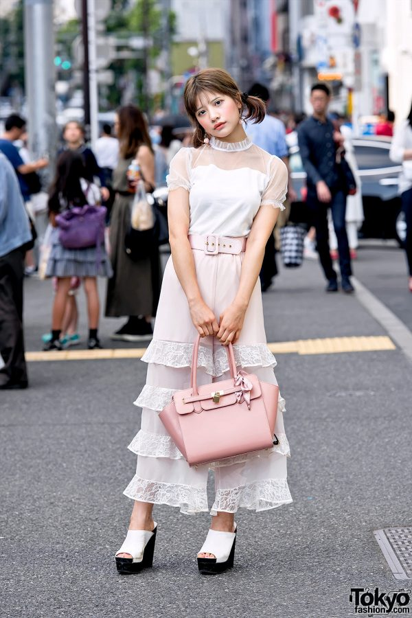Harajuku Model in Girly Street Style by Honey Mi Honey, Bubbles Harajuku & Titty&Co