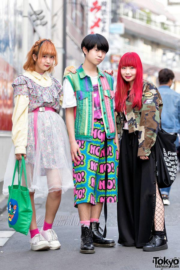 Kinji Harajuku Girls & Harajuku Boy in Resale Fashion, Jeremy Scott, EXPERTSDISAGREE & Dr. Martens
