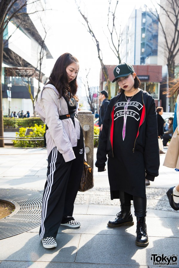 Harajuku Girls in Streetwear w/ Adidas Originals, Faith Tokyo, Vans & Louis Vuitton