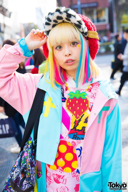 Harajuku Kawaii Model Kurebayashi in Cute Fashion by ...