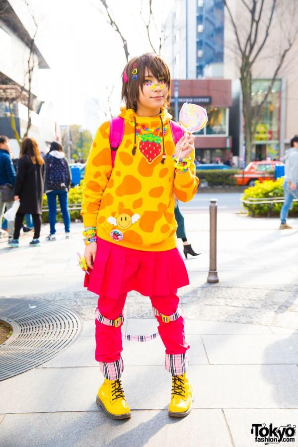 Harajuku Drummer In Kawaii Fashion W 90884 Claire S
