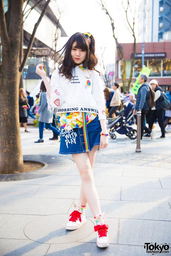 Harajuku Girl in Cute Fashion w/ Galaxxxy, Spinns, WEGO, Liz Lisa, One Spo & Claire's