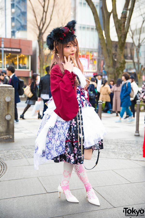 Harajuku Lolita in Metamorphose, MR Corset, Dreaming Drop & Gothic Holic