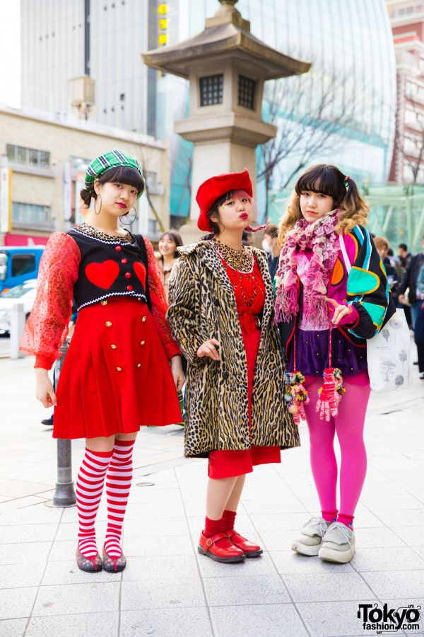 FANATIC Magazine Girls in Colorful Vintage & Handmade Street Styles w/ Tokyo Bopper & Kilo Shop