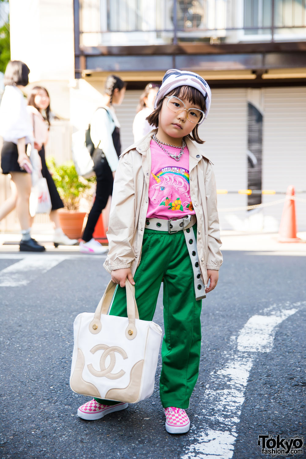 6-year-old Coco's Cool Harajuku Street Style W/ Funktique