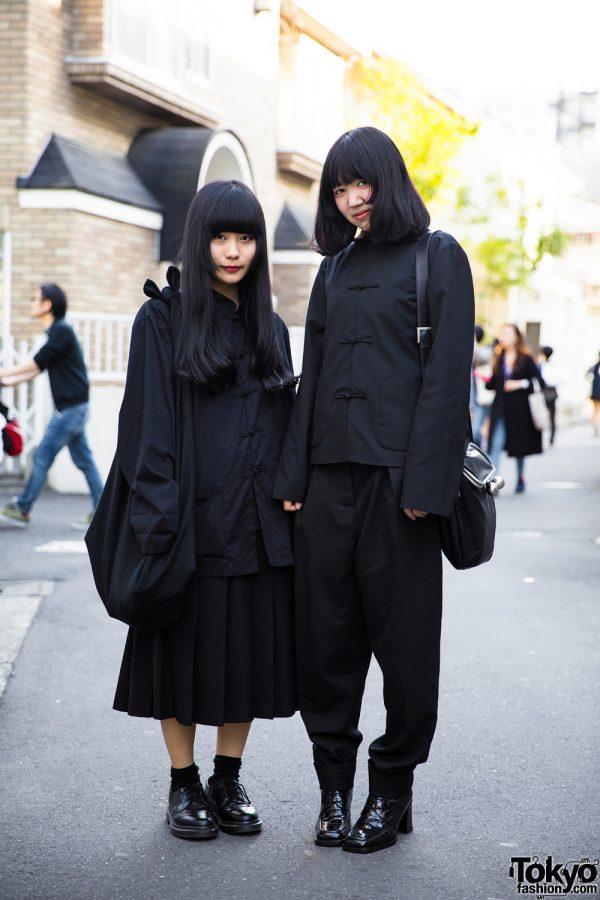 All Black Japanese Minimalist Fashion W Comme Des Garcons Jean Paul Gaultier Yohji Yamamoto