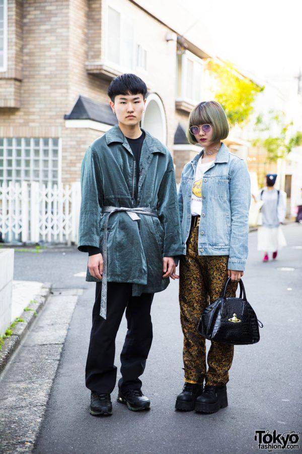 Harajuku Street Style w/ Kinji, Flamingo, Vivienne Westwood, Faith, Yohji Yamamoto, Guildan, Maison Margiela & Nike