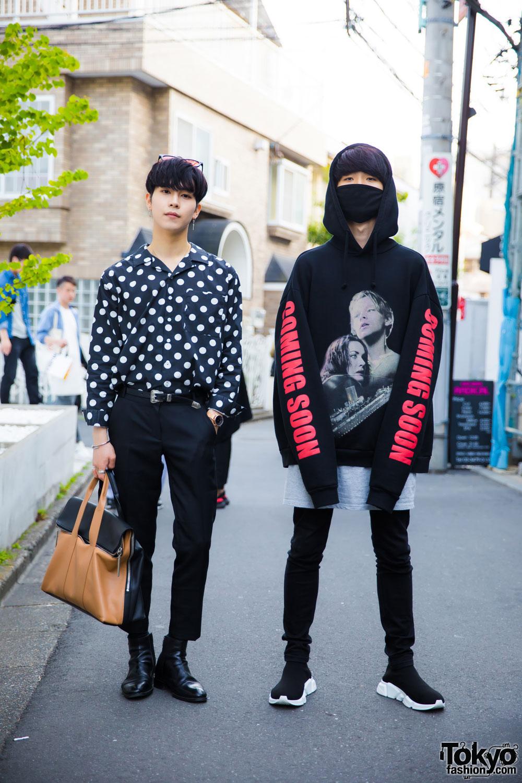 Harajuku Guys In Streetwear By Vetements Balenciaga