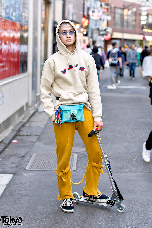 Tokyo street fashion store