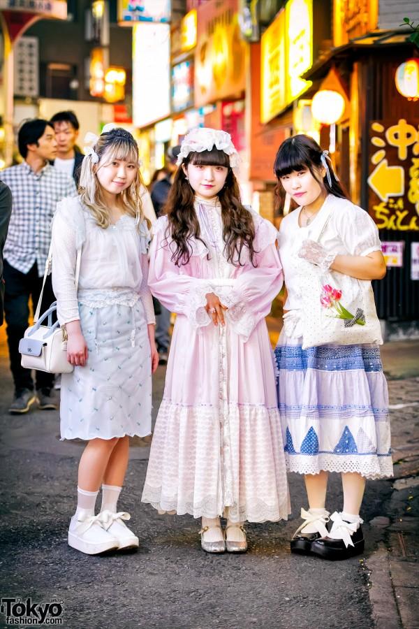 Vintage & Handmade Street Fashion w/ Pink House, Kinji, Daisy & Tokyo Bopper