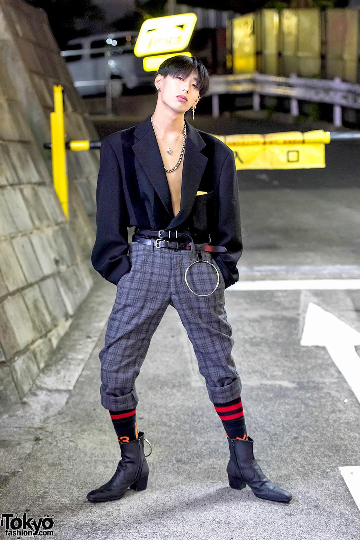 Comme Des Garcons, Yohji Yamamoto & Balenciaga Tokyo Street Fashion