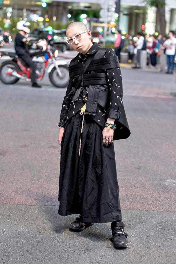 Avant Garde Japanese Street Style W Comme Des Garcons