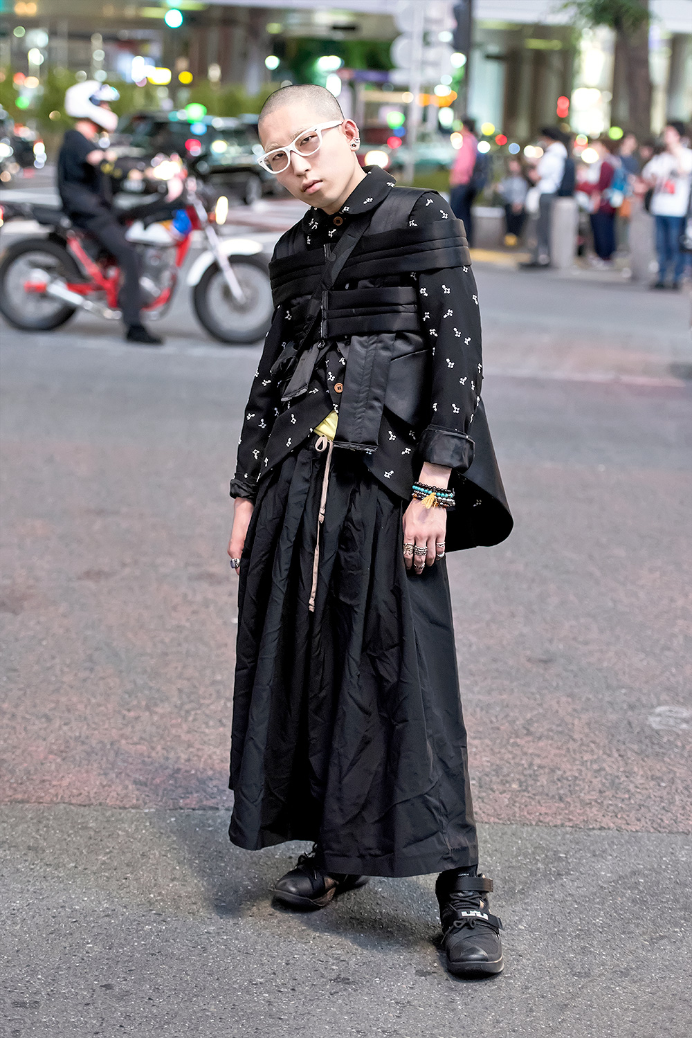 avantgarde japanese street style w comme des garcons
