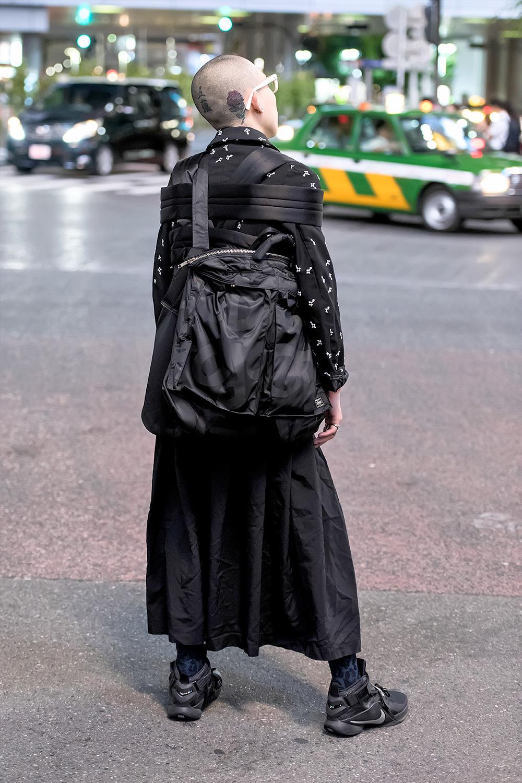 Avant-garde Japanese Street Style w/ Comme Des Garcons, Porter, Ambush & Chrome Hearts