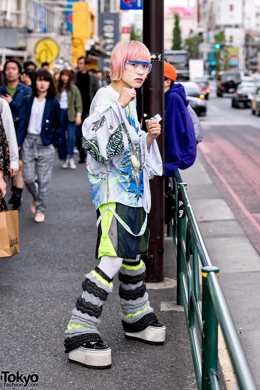 Japanese Streetwear Look w/ TA2YUKI Knit, Dog Harajuku ...