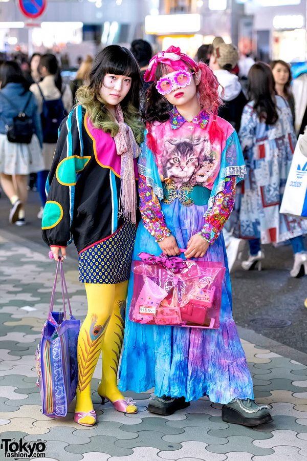 Dog Harajuku Fashion Fangophilia Rings Myob Nyc Bag: Colorful Vintage Tokyo Street Fashion W/ Dog Harajuku Cat