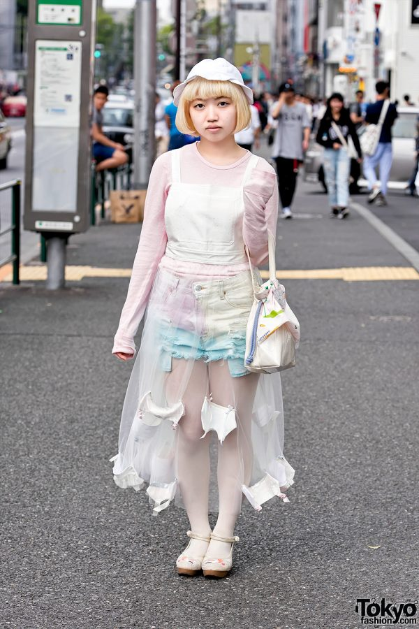 Pastel Harajuku Street Style w/ Keisuke Kanda, futatsukukuri & Mikansei (未完成)
