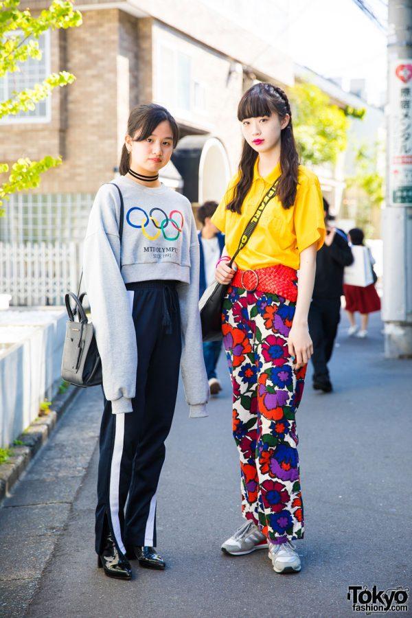 Harajuku Girls in Streetwear by More Than Dope, Oh Pearl, Mango & Adidas