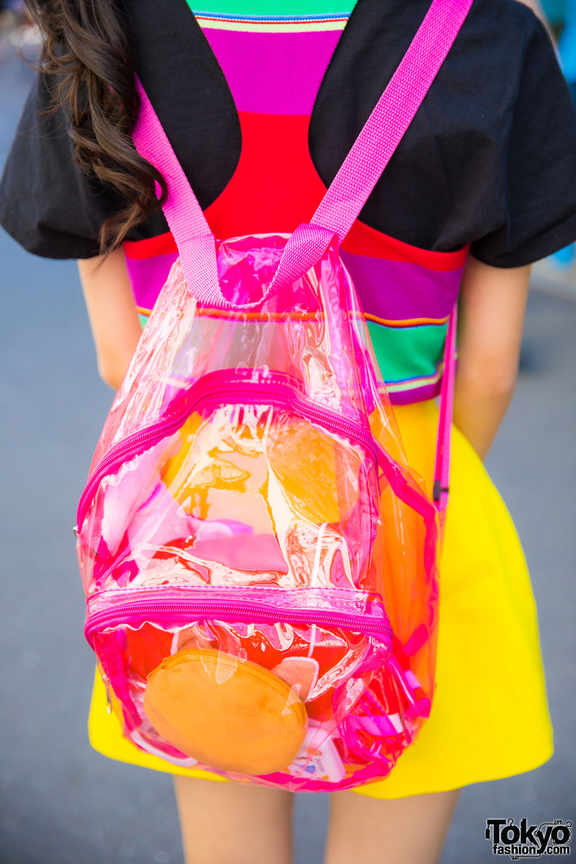 Harajuku Model/Actress in Colorful Vintage Fashion, Ralph