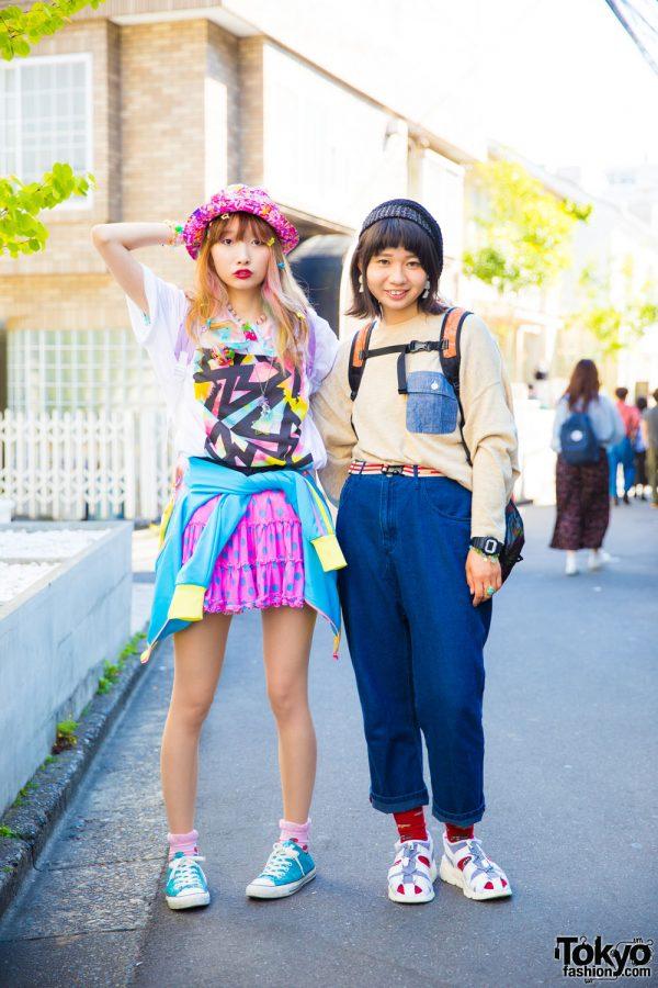 Harajuku Girls in Kawaii & Denim Styles w/ 6%DOKIDOKI, Cutting Dorothy, Faith Tokyo, Esther Kim, Microudesu & Mercibeaucoup