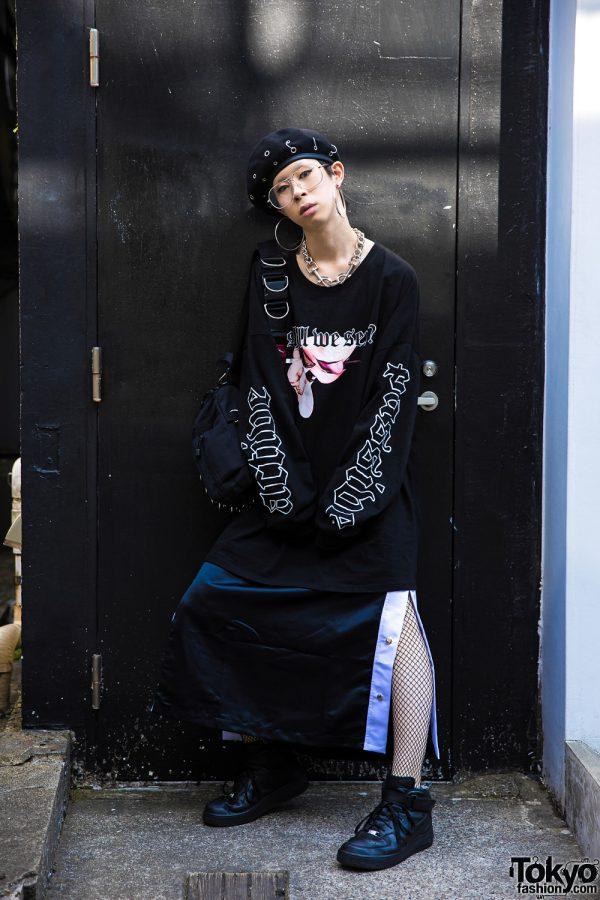 Bercerk Harajuku Designer in Yesterdays Virgins & Elephant Tribal Fabrics