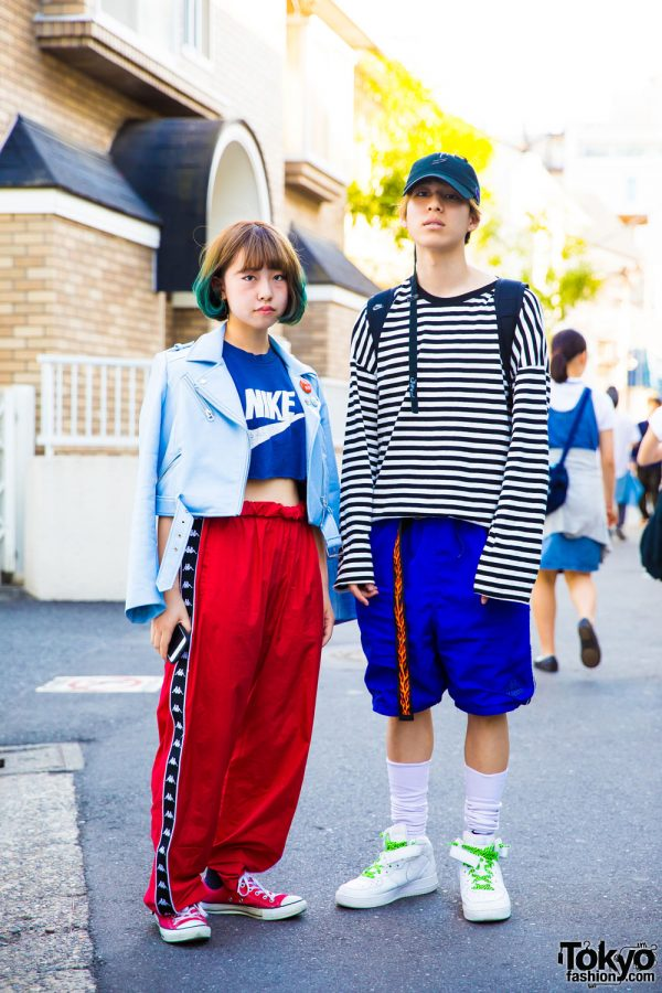 Harajuku Duo in Sporty Chic Resale Fashion w/ Kappa, Nike & Converse