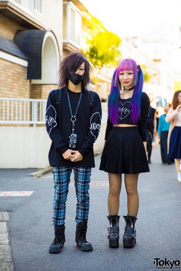 Dark Harajuku Streetwear & Dip Dye w/ Morph8ne, Killstar, Dolls Kill, Nyulycadelic & Restyle