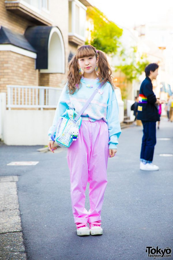 Pastel Resale Fashion in Harajuku w/ Spank!, Daidai, Panama Boy, Kiki2 & Question Mark