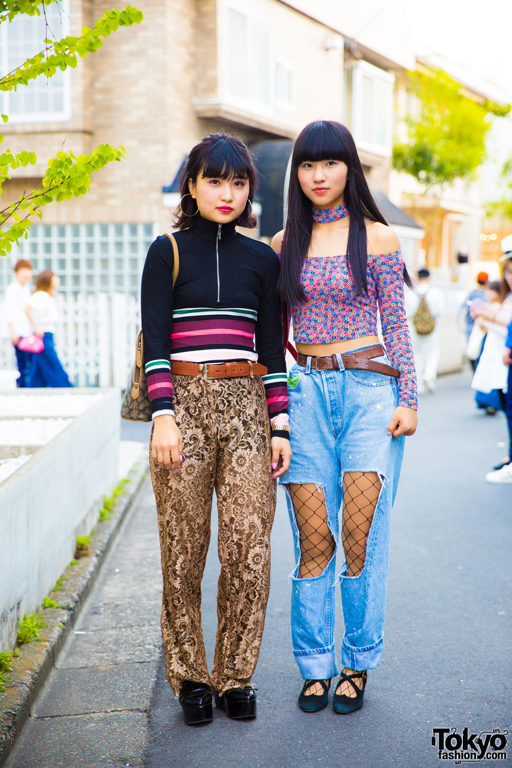 Harajuku Girls Street Styles W/ Candy Stripper, Moschino