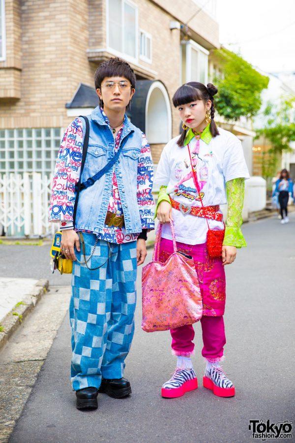 Colorful Tokyo Street Style Looks w/ Hysteric Glamour, Yosuke, Kinji Harajuku, Bunkaya Zakkaten & Ozone Community