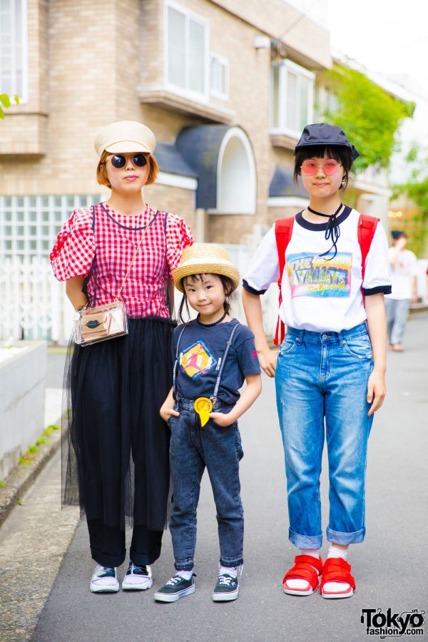 Harajuku Trio in Chubby Gang, Roni, Aymmy in the Batty Girls, Theatre Products & Vans