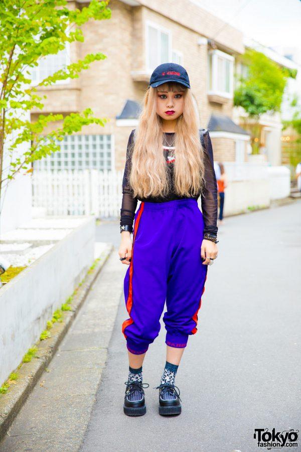 Sporty Harajuku Street Style w/ Candy Stripper, Skoot, Grafea, Amijed, Nyulycadelic, Alice Black & Demonia