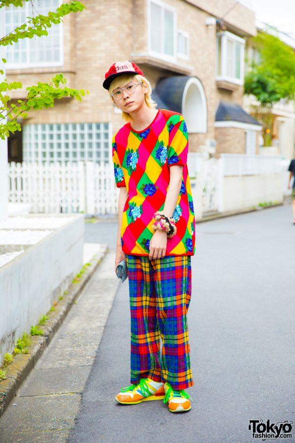 Muyua's Colorful Harajuku Street Fashion w/ Kenzo, Tricot Comme des Garcons & Adidas