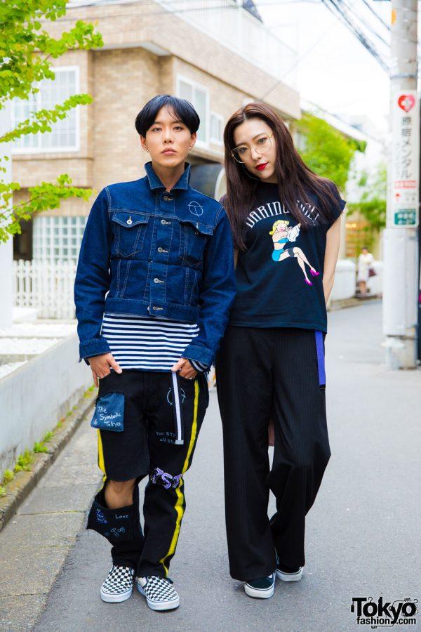 Harajuku Streetwear Looks w/ The Symbolic Tokyo, Vans, Chrome Hearts, Sly, Alexander Wang & Amijed