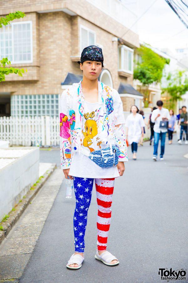Harajuku Guy in Handmade & Resale Fashion w/ Bernhard Willhelm, Number Nine & N.Hoolywood
