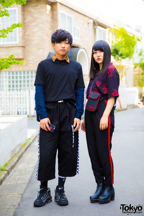Dark Harajuku Street Styles w/ Never Mind The XU, OY, Nike, Claire's & H&M