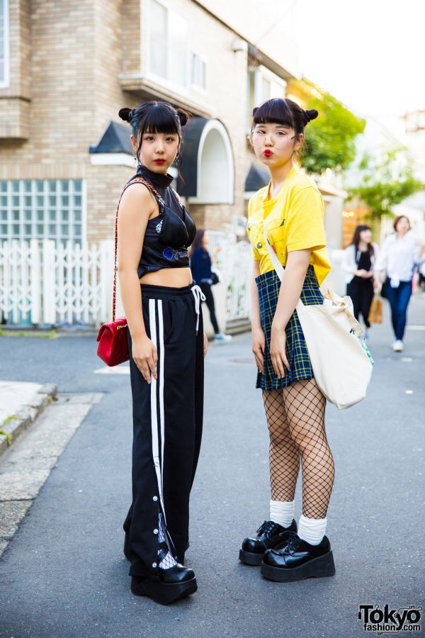Harajuku Girls Street Styles w/ Morph8ne, Peco Club, Bubbles, Candy Stripper, Demonia & Pikachu