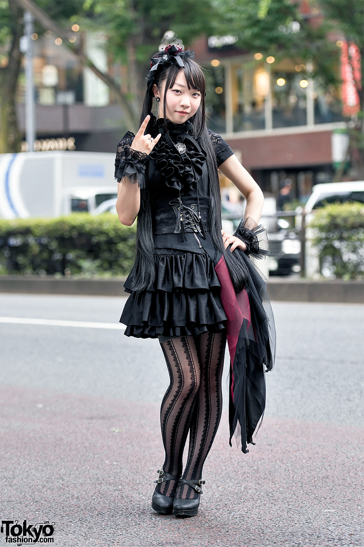 Gothic Lolita Harajuku Corset Sheglit Nah Ozz On
