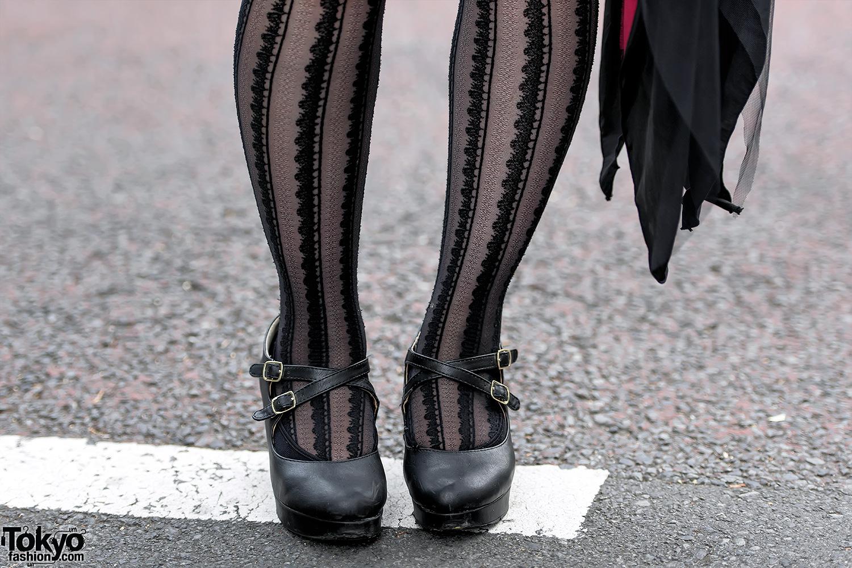 Gothic Lolita Harajuku Street Style W Corset Sheglit Na